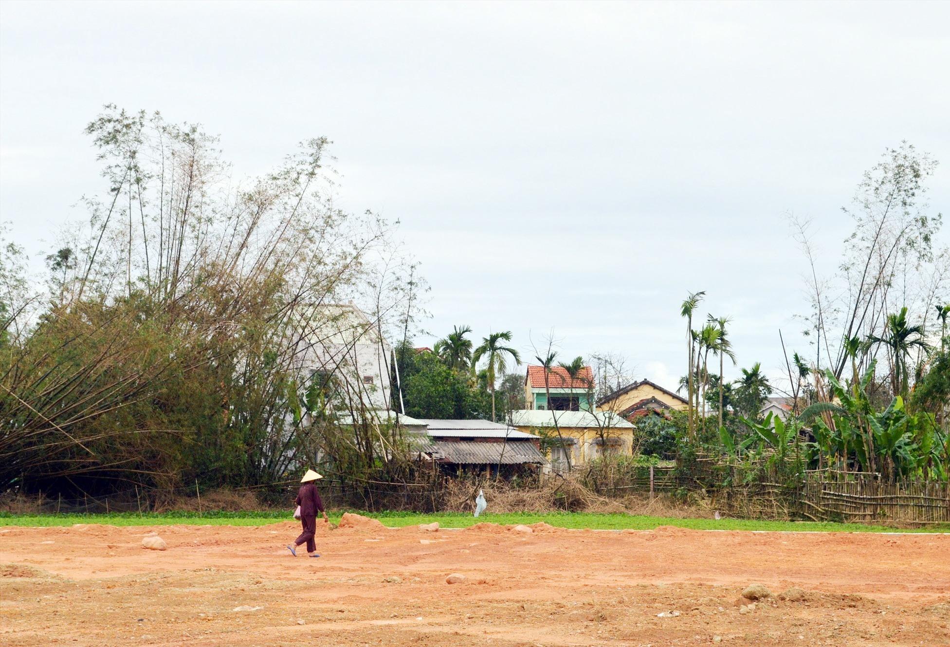 Nhiều ngôi làng điển hình xứ Quảng đang dần bê tông hóa biến thành đô thị