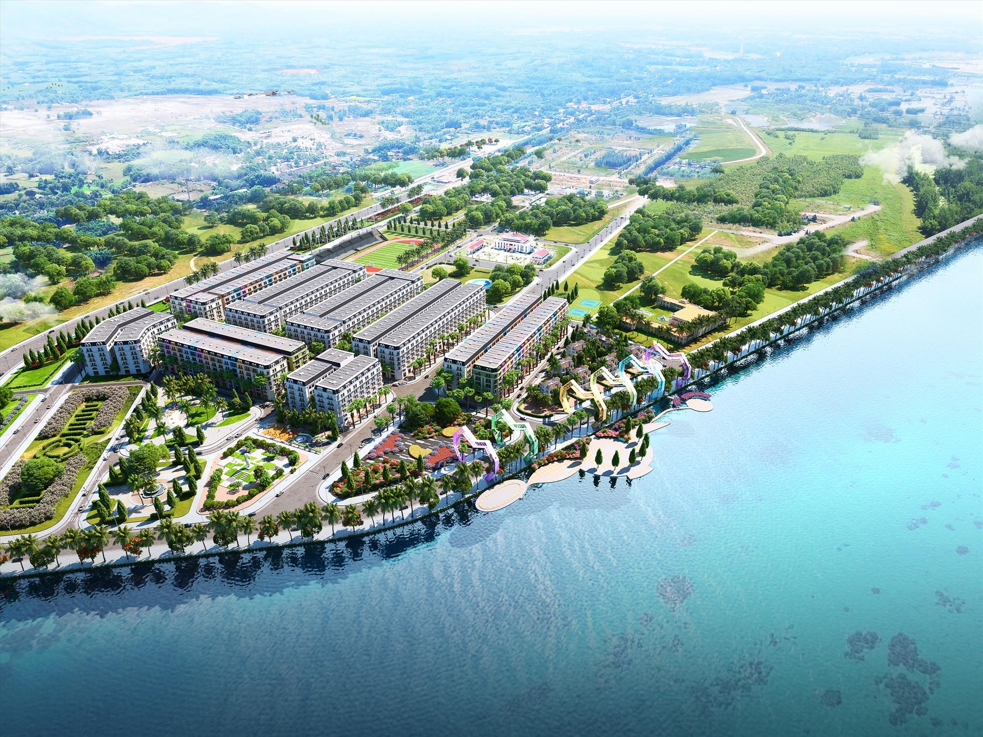 Việt Group Capital tiếp tục đầu tư dự án với các hạng mục phố đi bộ ven sông, chợ đêm