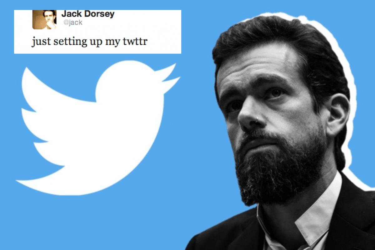 Bài đăng của người sáng lập Twitter Jack Dorsey trên nền tảng này kèm đoạn mã NFT đang được rao bán  với giá 3,2 triệu USD. Ảnh: ED Times