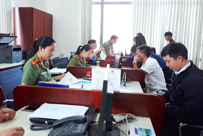 Trung tâm Hành chính công Quảng Nam. Ảnh: C.N