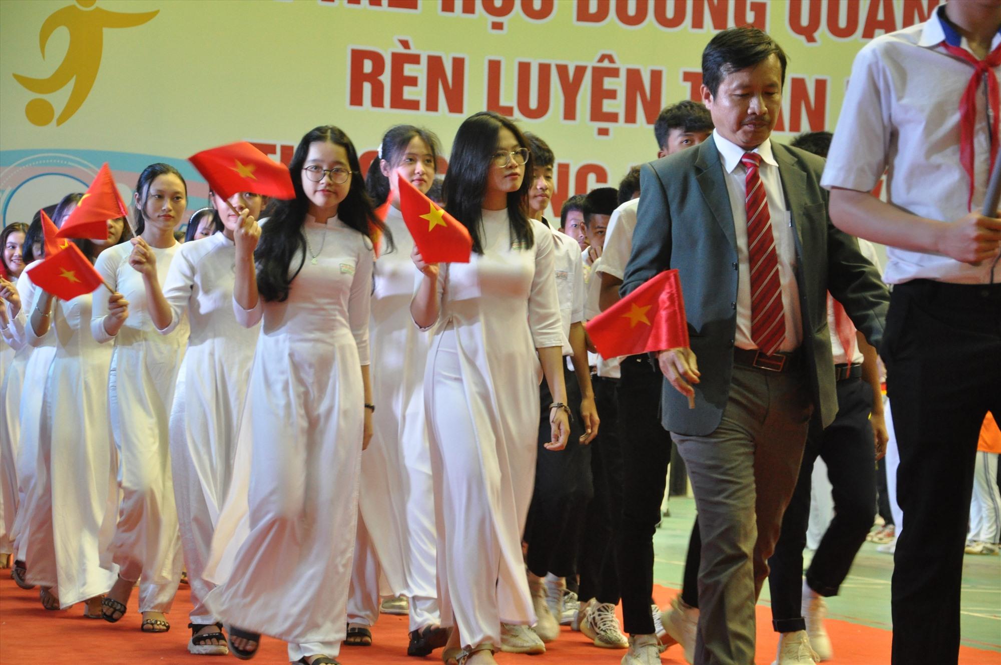HKPĐ tỉnh năm 2020-2021 thu hút hơn 3.500 VĐV  tham gia. Ảnh: X.P