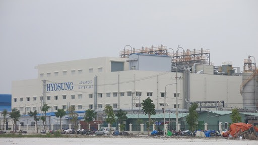 A factory in an industrial park in Quang Nam