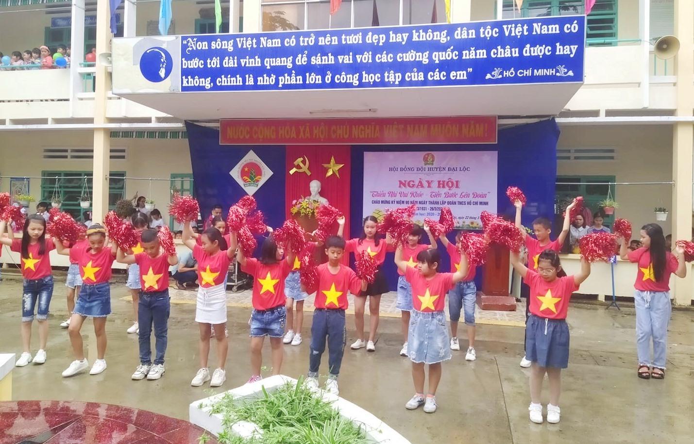 Ngày hội ở huyện Đại Lộc. Ảnh: Huyện đoàn Đại Lộc.
