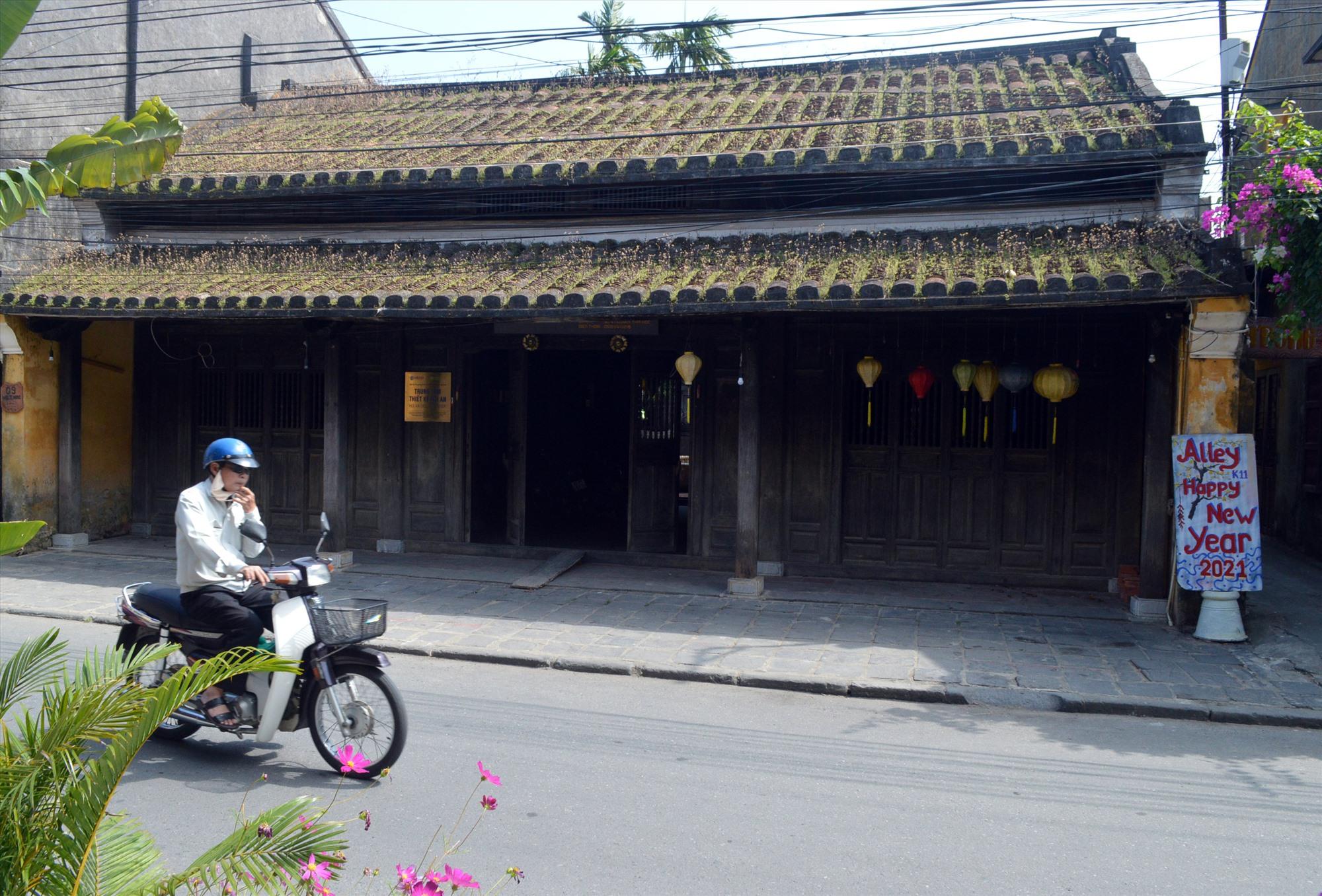 Ngôi nhà số 9 Nguyễn Thái Học đang được thành phố triển khai thu hồi. Ảnh: V.L