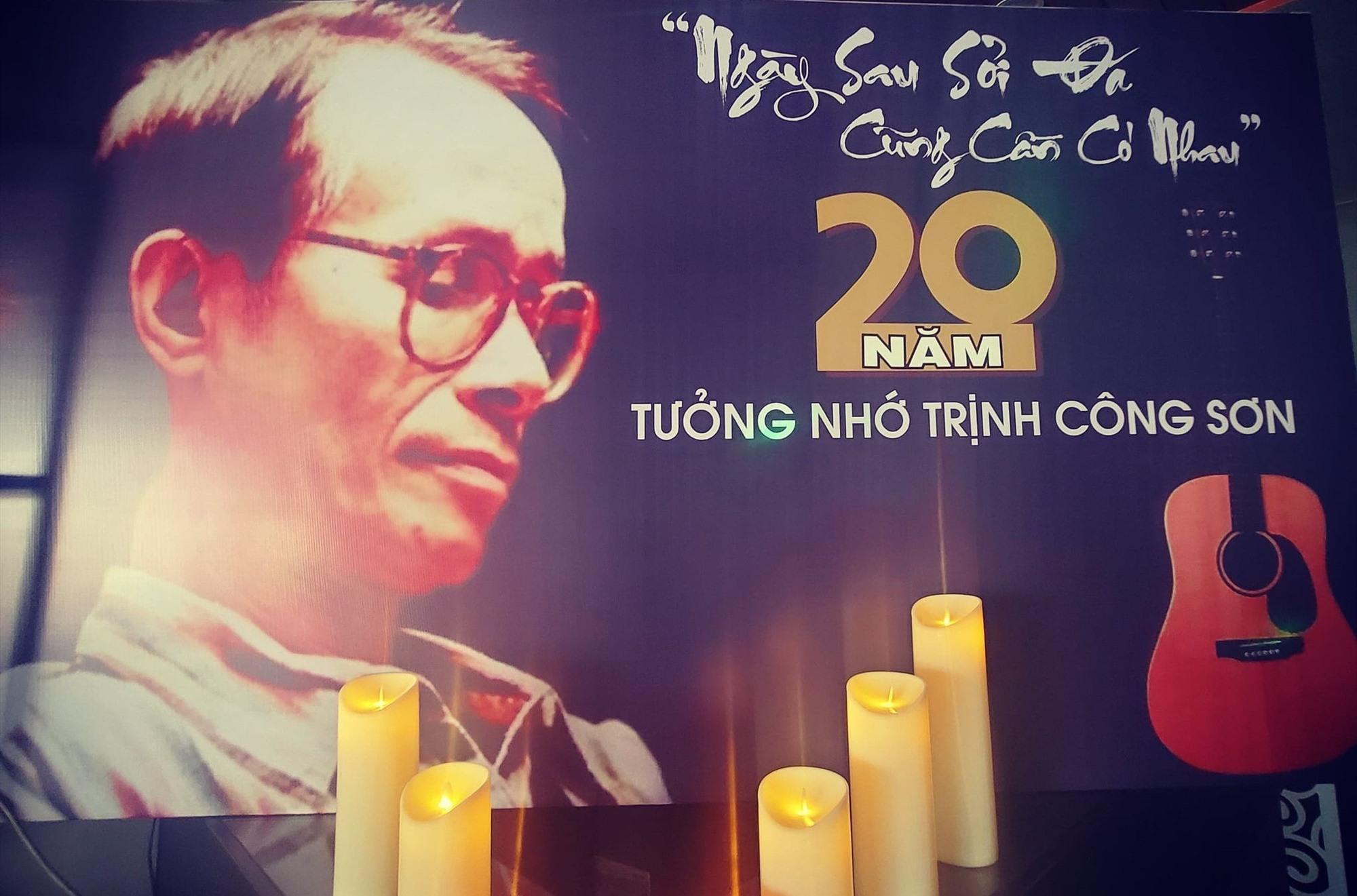 Nhiều phòng trà, cafe đã cùng tổ chức đêm nhạc tưởng nhớ nhạc sĩ Trịnh Công Sơn. Ảnh: H.O