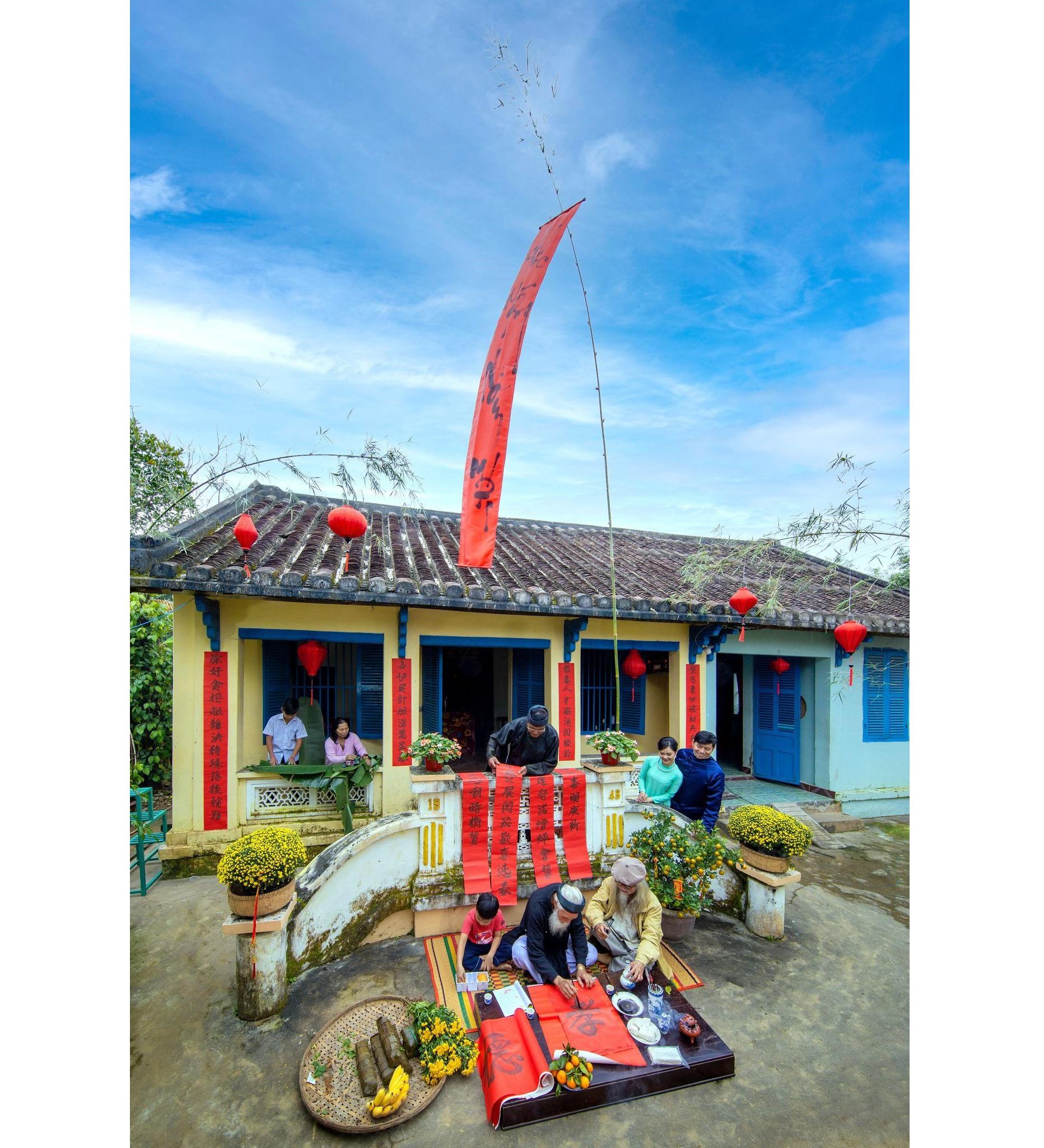 """Dấu ấn """"550 năm danh xưng Quảng Nam"""" gắn với các đình làng cổ... Ảnh; L.T.K"""
