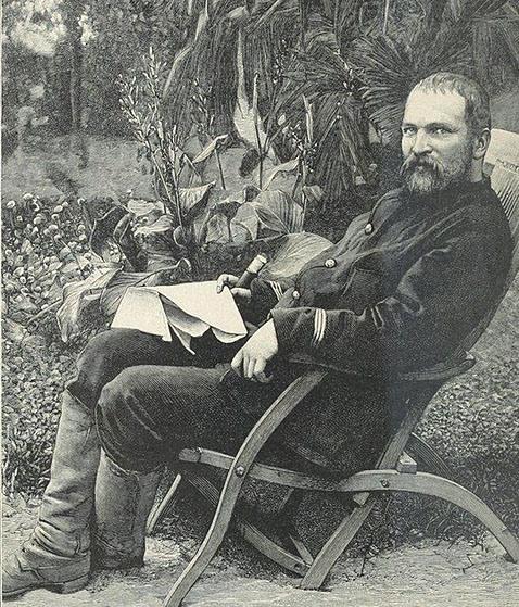 Bác sĩ Hocquard nổi danh với các cuộc thám hiểm và nhiếp ảnh bằng chiếc máy ảnh Gaston Roullet. Ảnh: tư liệu