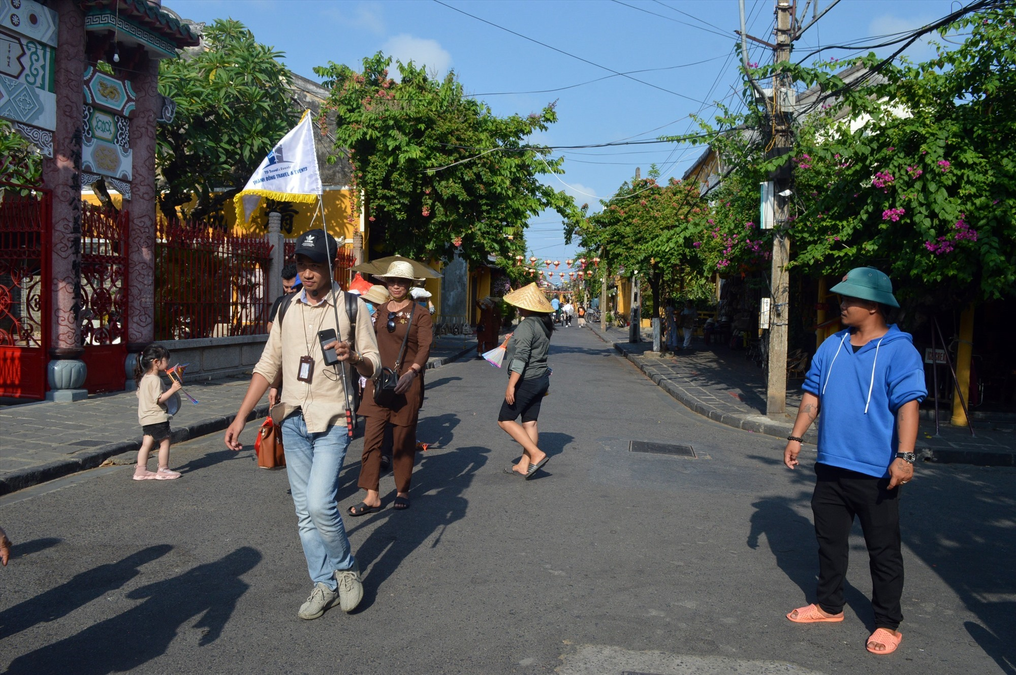 One of tourist delegations back to Hoi An city, Quang Nam province after the Covid-19 pandemic