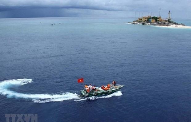 An Bang island of the Truong Sa archipelago (Photo: VNA)