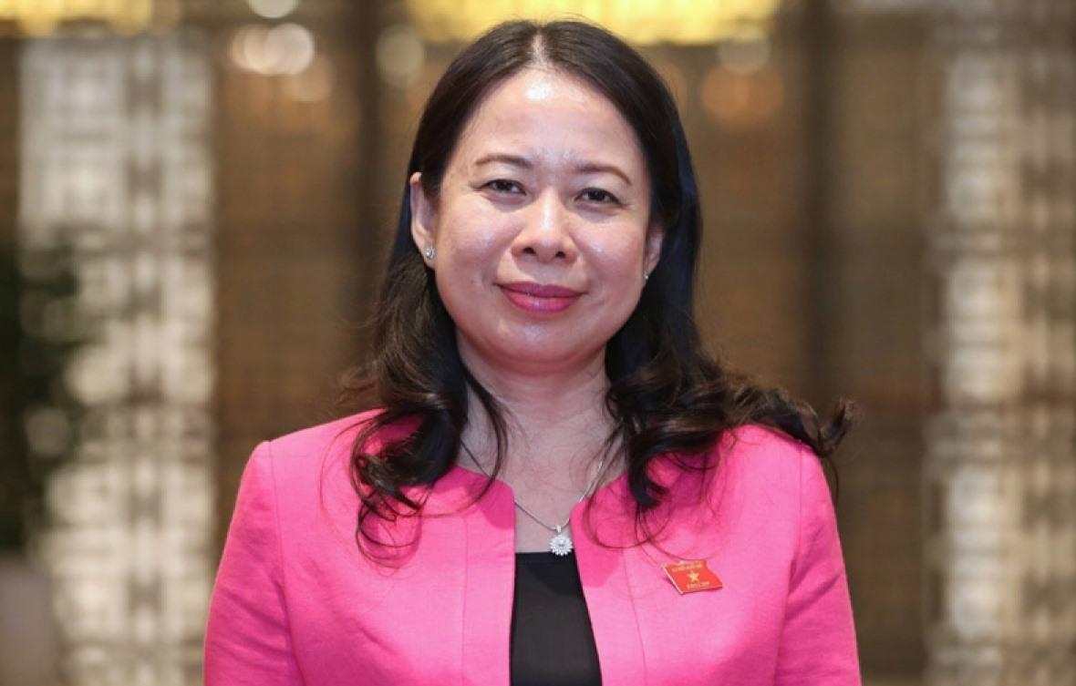 bà Võ Thị Ánh Xuân giữ chức vụ Phó Chủ tịch nước.