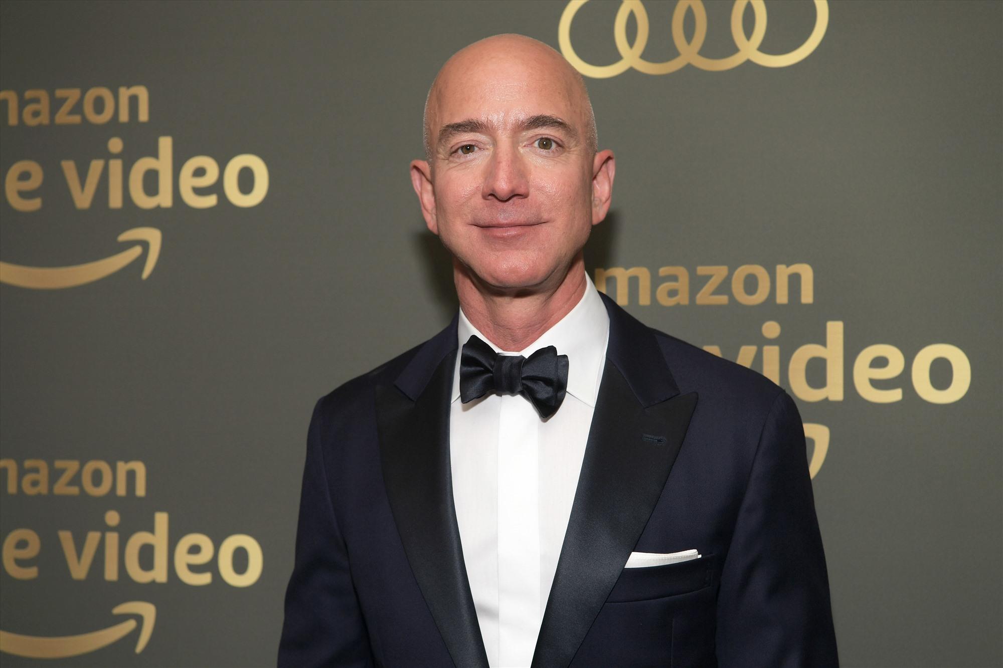 Jeff Bezos-CEO và Chủ tịch của công ty công nghệ đa quốc gia Amazon, người giàu nhất thế giới hiện nay. Ảnh: Gettyimages