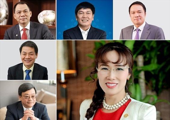 Việt Nam có 6 tỷ phú USD trong danh sách của tạp chí Forbes. Ảnh: pulsenews.co.kr