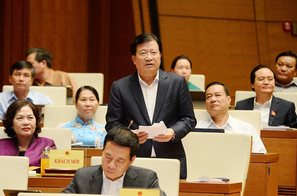 Quốc hội phê chuẩn miễn nhiệm Phó Thủ tướng Trịnh Đình Dũng