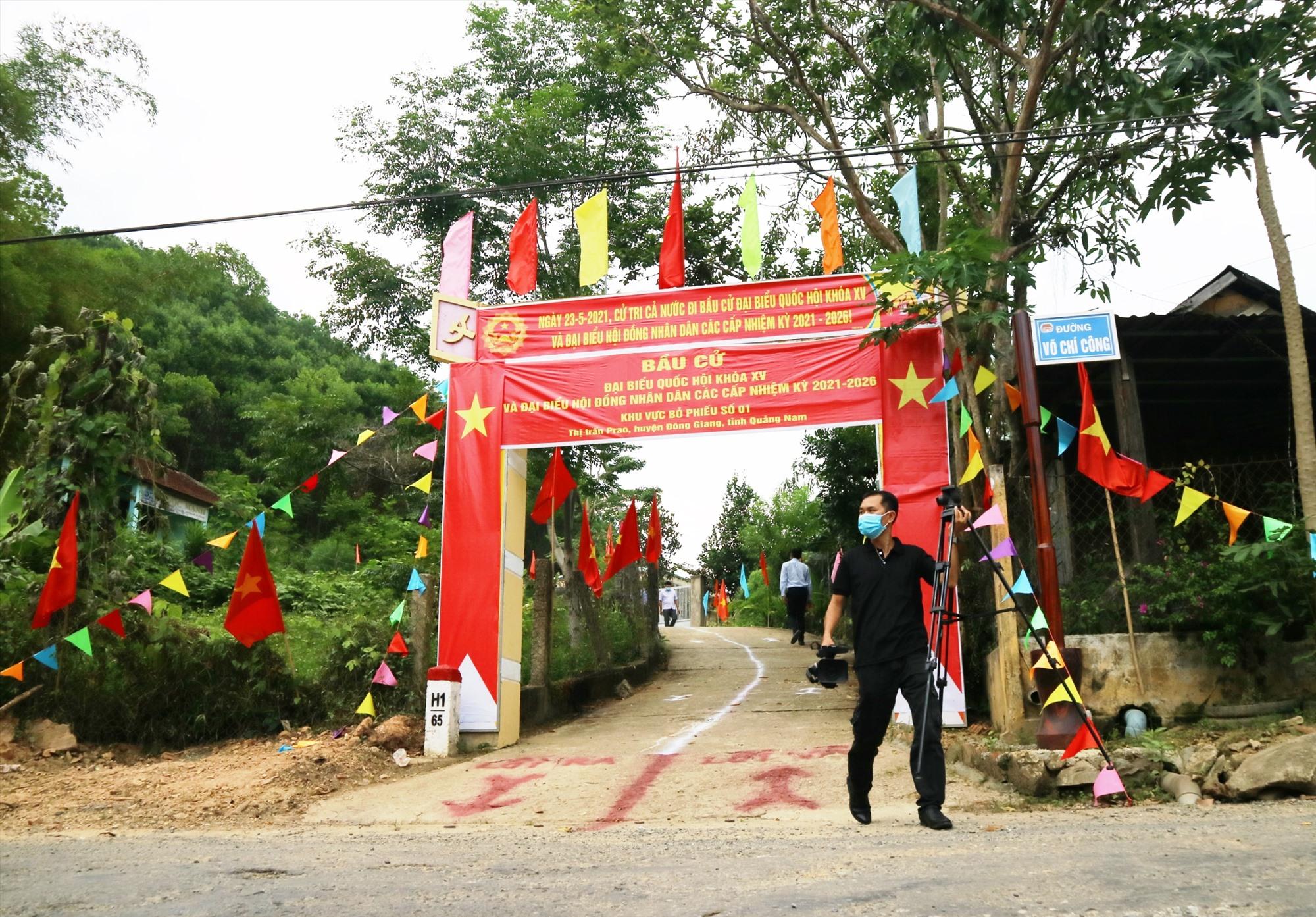 Đến thời điểm này, Đông Giang đã cơ bản hoàn tất công tác chuẩn bị cho bầu cử. Ảnh: A.N