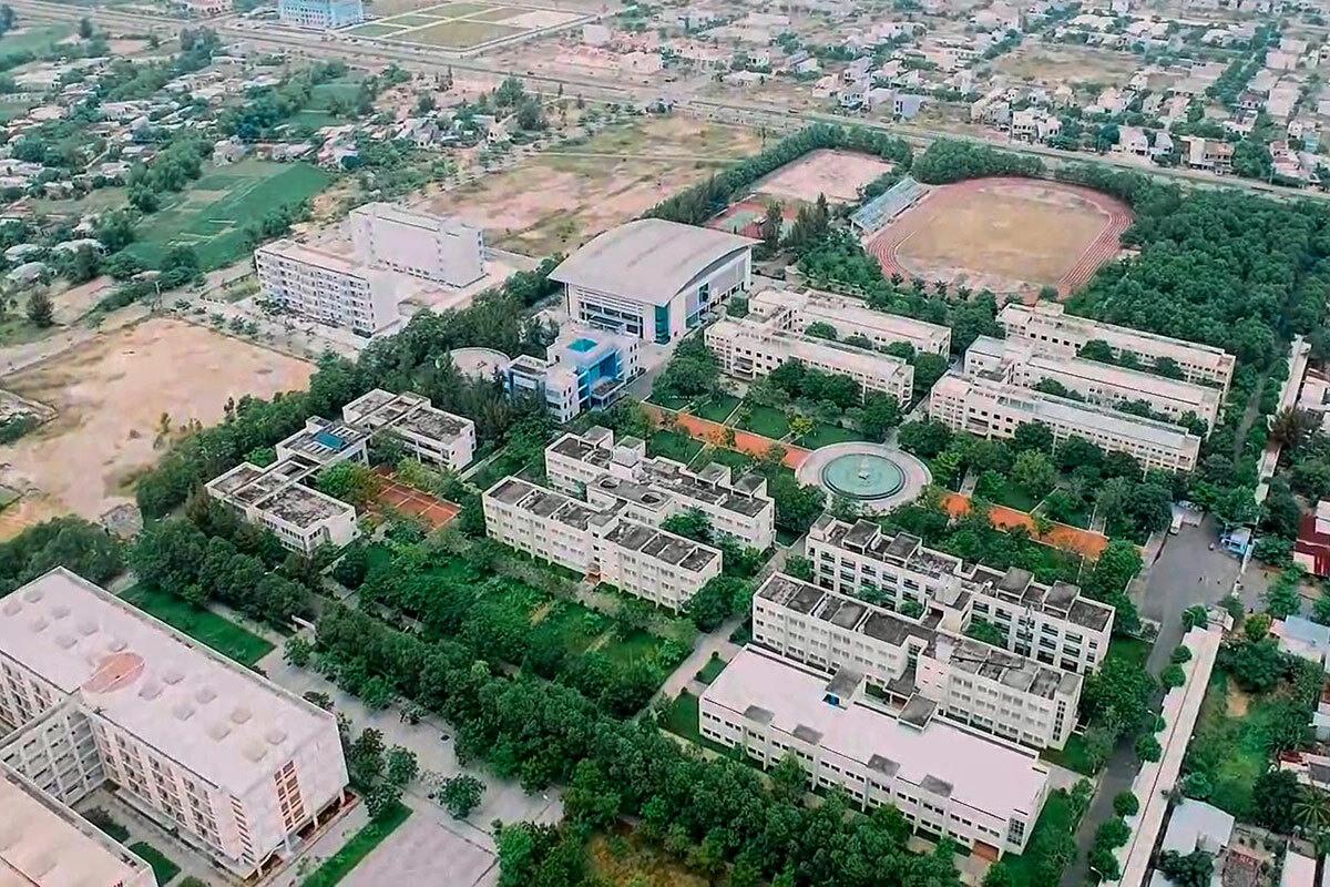 Một tổ hợp không gian xanh tiện nghi, hiện đại theo mô hình ĐH chất lượng quốc tế.