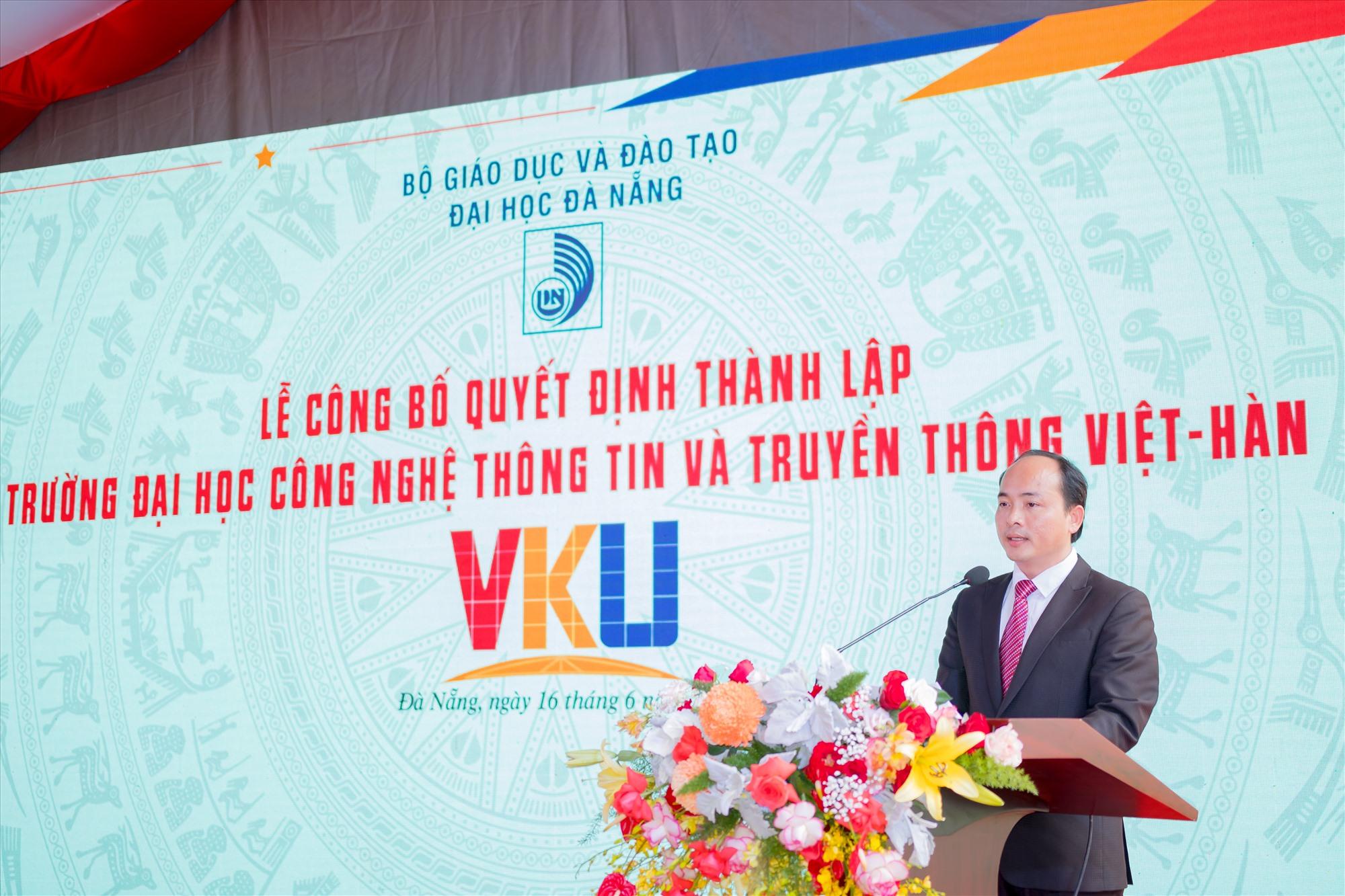 PGS.TS. Huỳnh Công Pháp-Hiệu trưởng VKU.