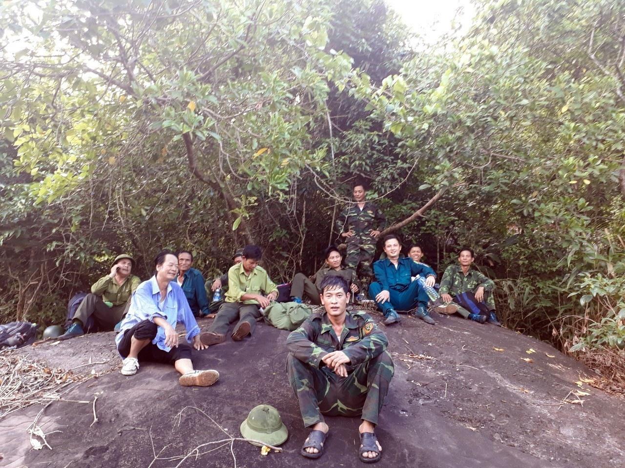 Đội tuần tra, phòng chống cháy rừng của Ban Quản lý Di sản Văn hóa Mỹ Sơn