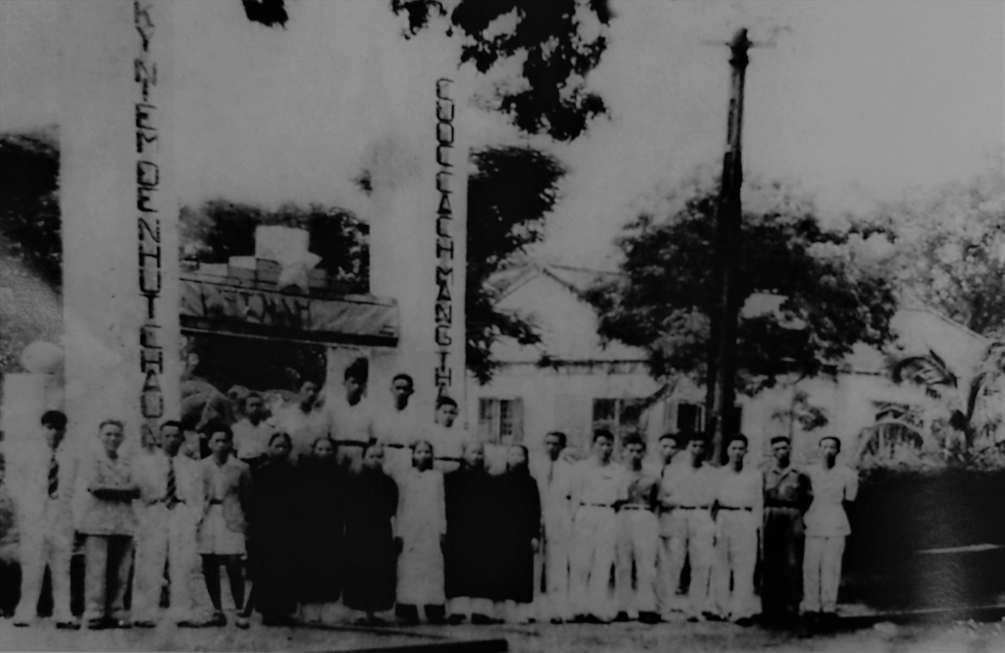 Cơ quan Mặt trận Việt Minh Cửu Long (Hội An) nay là số 2 đường Nguyễn Huệ TP Hội An (Ảnh tư liệu)