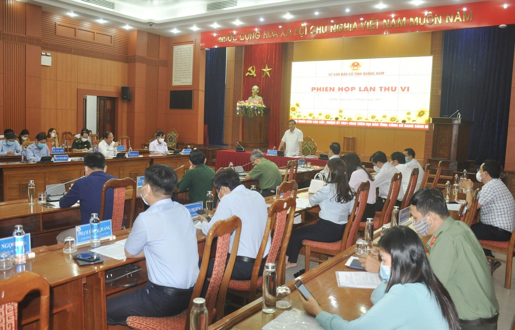 Quảng Nam bầu đủ 57 đại biểu HĐND tỉnh khóa X