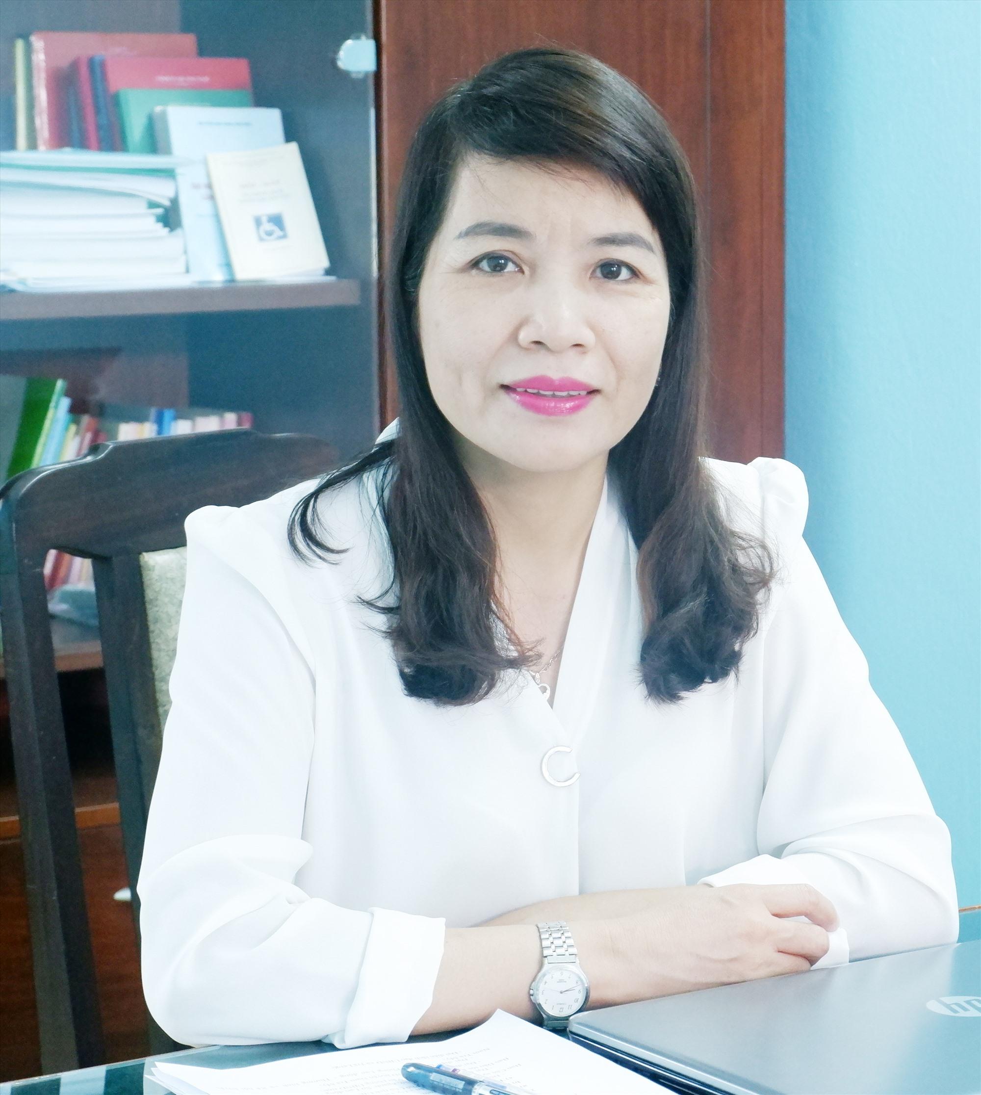 Bà Lưu Thị Bích Ngọc - Phó Giám đốc Sở LĐ-TB&XH.
