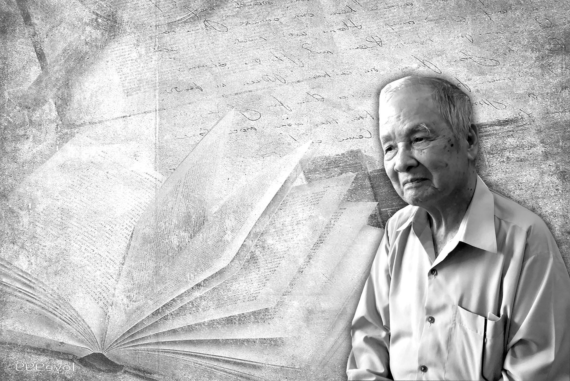 Học giả Nguyễn Q.Thắng. Ảnh: Nguyễn Tam Mỹ