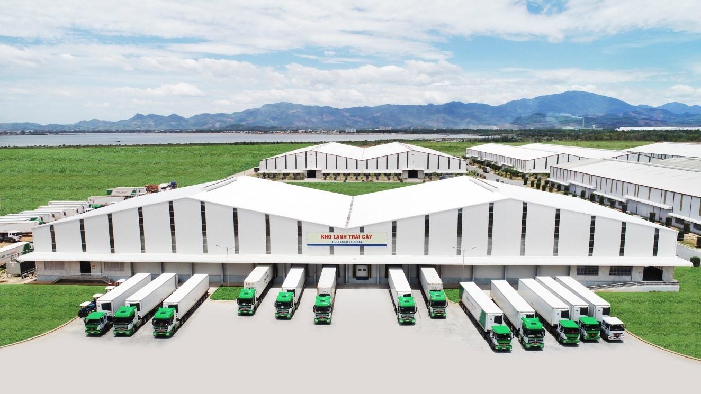A 2400-ton cold storage at Chu Lai Port