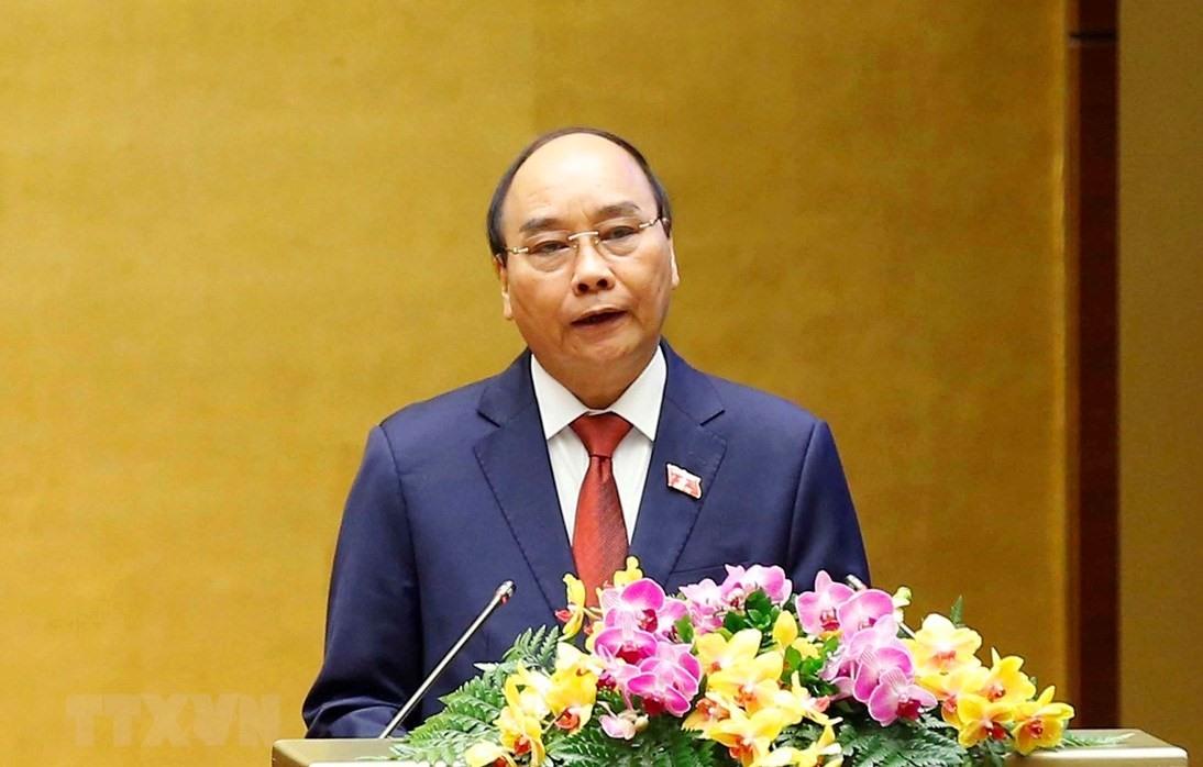 Chủ tịch nước Nguyễn Xuân Phúc. (Ảnh: Doãn Tấn/TTXVN