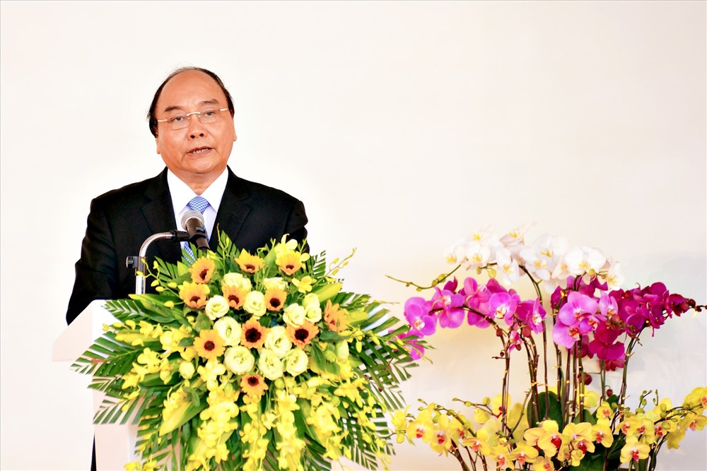 PM Phuc speaks at the event