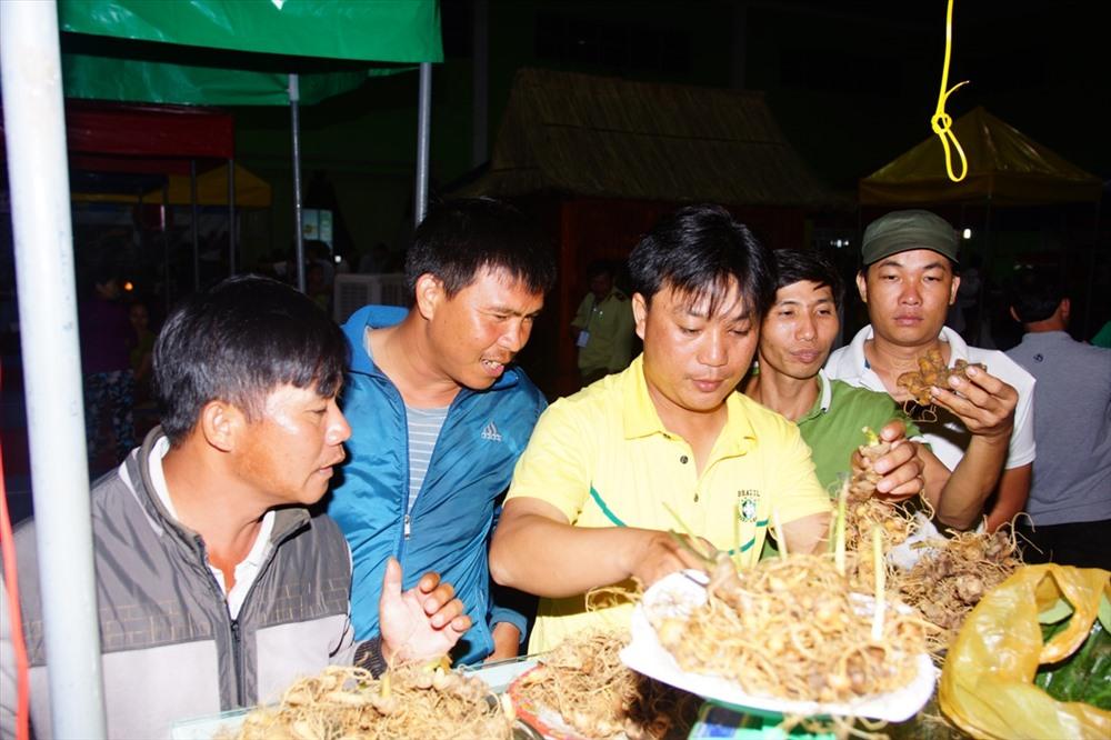 The way to distinguish real and fake ginseng at the fair