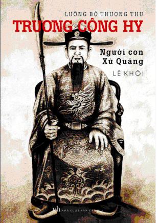 """Hình ảnh cụ Trương Công Hy trên bìa sách """"Người con xứ Quảng"""". Ảnh tư liệu"""