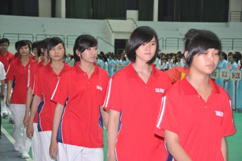 Thể thao đất Quảng đặt niềm tin nơi lực lượng trẻ này. Ảnh: A.S