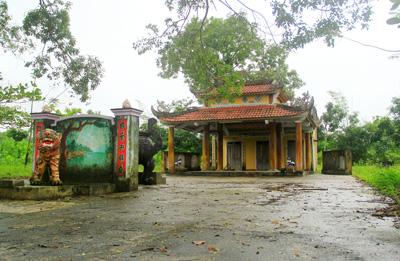 Đình làng Phước Sơn.