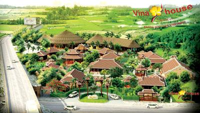 Phối cảnh tổng thể không gian nhà Việt của Vinahouse.