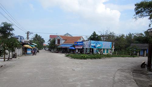 Diện mạo nông thôn ở Bình Giang hôm nay.Ảnh: NAM QUANG