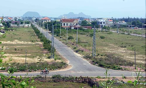 Khu đô thị mới Điện Nam - Điện Ngọc. Ảnh: T.D