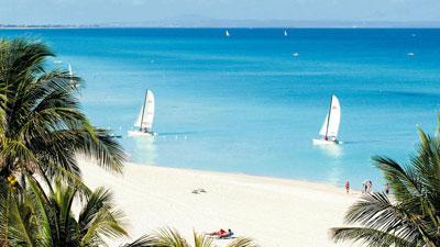 Thiên đường nghỉ mát nổi tiếng Varadero của Cuba.
