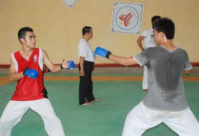 Được hưởng nhiều ưu đãi sẽ giúp cho các VĐV nỗ lực hơn trong tập luyện và thi đấu. Ảnh: A.S