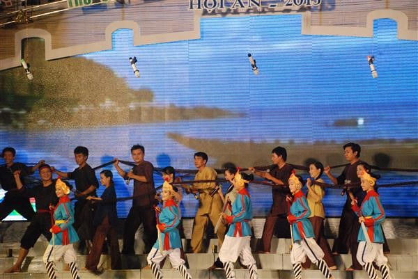 """""""Hoi An - Town and Sea""""- A lively reappearance in the opening performance."""