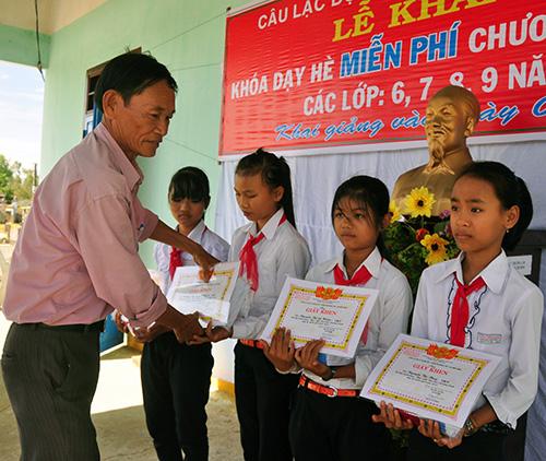 Phong trào thi đua khuyến học ở Thăng Bình ngày càng lan tỏa và nhận được sự hưởng ứng tích cực của cộng đồng.Ảnh: H.GIANG