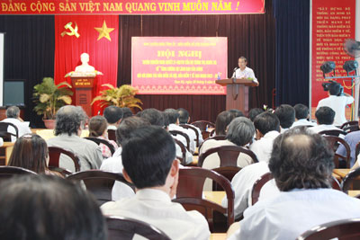 Nghị quyết 21 của Bộ Chính trị được triển khai đến tất cả thành phần liên quan nhằm thực hiện tốt chính sách BHXH, BHYT.