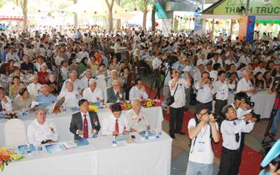 Ngày hội đồng hương Quảng Nam - Đà Nẵng tại TP.Hồ Chí Minh đã tạo nên sự lan tỏa và sức mạnh đoàn kết trong cộng đồng người Quảng. Ảnh: Q.MINH