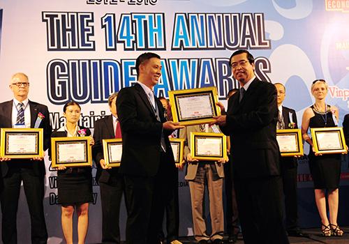 Vinh doanh các danh hiệu của những doanh nghiệp du lịch trong toàn quốc.