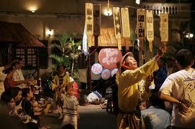 Bai Choi  (a Vietnamese traditional game) performance.