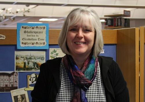 Artist Bridget March.