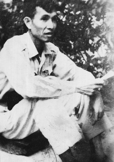 Đồng chí Trương Đinh trong thời kỳ hoạt động cách mạng.Ảnh do gia đình cung cấp