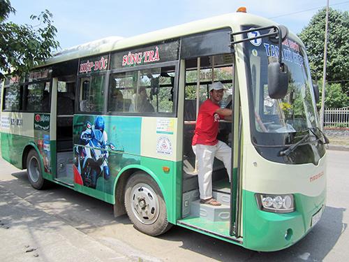 Đầu tư phát triển xe buýt là mục tiêu lâu dài của xí nghiệp. Ảnh: C.T