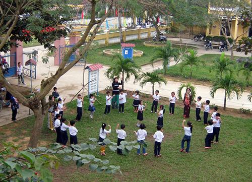 Trường Tiểu học Phan Thanh (Bảo An, Điện Quang), tiền thân là trường Tiểu học Bảo An, nơi nổi tiếng một thời đào tạo nên những danh nhân đất Việt.