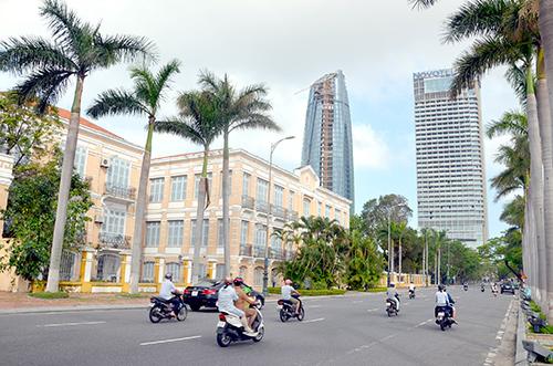 TP. Đà Nẵng phát triển hạ tầng để thu hút đầu tư. Ảnh: T.BÌNH