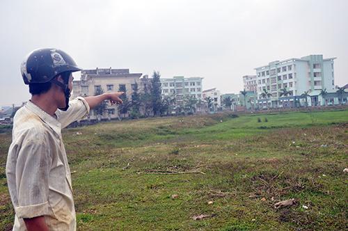 Liên quan đến những sai phạm trong công tác quản lý, sử dụng đất tại khu dân cư Đông Tân Thạnh (TP.Tam Kỳ), có 5 cá nhân bị xử lý kỷ luật. Ảnh: NG.ĐOAN