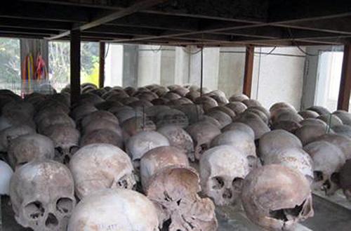Bằng chứng diệt chủng của Pôn Pốt.